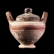 Ancient Canosan cup-skiphos Stock Photos