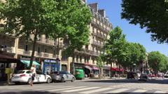 The Saint Germain Des Pres, Paris, France Stock Footage