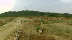 Arid land - stock footage