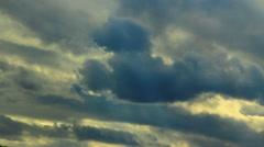 Sky time lapse Stock Footage