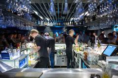 Hangout at the nightclub people - stock photo