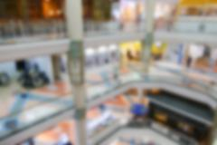 Stock Photo of blurry defocused image of department store