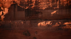 Stock Video Footage of Canyon De Chelly Timelapse 04 Ancient Indian Ruins