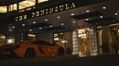 Hong Kong super wealthy 4K Stock Footage