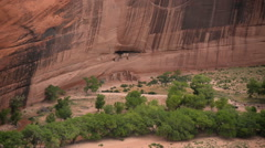 Stock Video Footage of Canyon De Chelly Timelapse 05 Ancient Indian Ruins