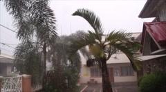 Bad Weather Rain Stock Footage