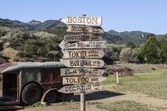 "Malibu Creek State Park ""MASH"" Set Site - stock photo"
