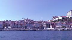 Porto   Portugal. UNESCO protection Stock Footage