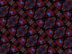 Intricate Geometric Modern Seamless Pattern - stock illustration