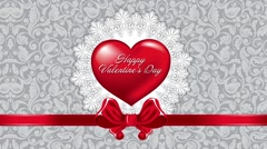 Valentines day!!!, Valentine's Day animated background Stock Footage