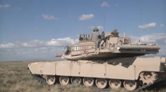 M2 Bradley Fighting Vehicles Training Stock Footage