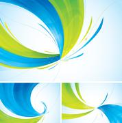 Duotone abstract background - stock illustration
