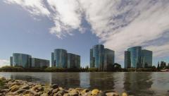 Oracle Headquarters, Silicon Valley, Timelapse Twist Stock Footage