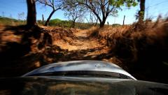 Off Road driving Stock Footage