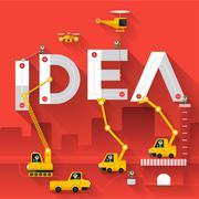 IDEA - stock illustration