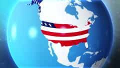 United States zoom to hitech Stock Footage