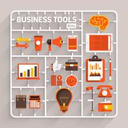 Business Tools - stock illustration