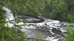 Tahquamenon River Stock Footage