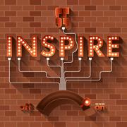 Inspire Stock Illustration