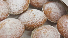 The muffins Stock Footage