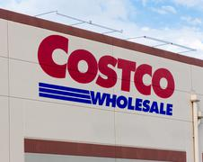 Costco Wholesale store exterior Stock Photos