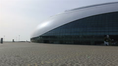 Bolshoy Ice Dome. Arena will host HC Sochi, a newly founded team of KHL - stock footage