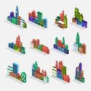 City 3D Piirros