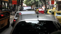 Driving Through Rio de Janeiro. Brazil. Ipanema, Copacabana, Zona Sul. - stock footage
