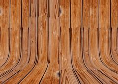 old wood texture of solid oak. - stock photo