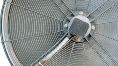 Air Conditioning Fan Spinning at High Speed Arkistovideo