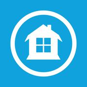 House sign icon Stock Illustration