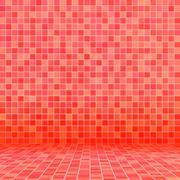 Ceramic tile - stock illustration