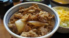 Variety kind of Japanese food short footage - stock footage