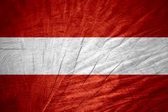 Stock Illustration of flag of Austria