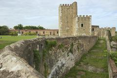 Ozama Fortress in Santo Domingo, Dominican Republic. - stock photo