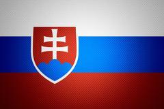 flag of Slovakia - stock illustration