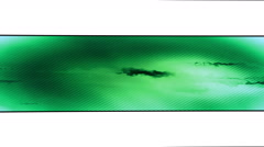 Green looping abstract banner Stock Footage