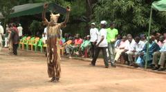 Festival in Mali 2 Stock Footage