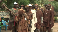 Traditional festival in Mali 2 Stock Footage