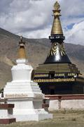 Samye Monastery - Tibet Stock Photos
