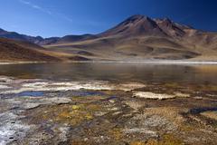 Laguna Miscanti - Atacama Desert - Chile - stock photo