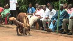 Stock Video Footage of Festival in Mali (flip, acrobatics)