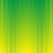 Seamless waves strips pattern - stock illustration