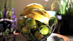 Fresh Fruits - House garden Stock Footage