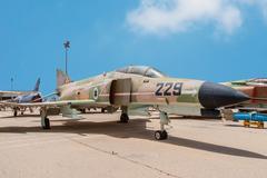 McDonnell Douglas F-4E Super Phantom aircraft Stock Photos