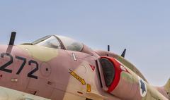 Douglas Skyhawk A-4H attack aircraft Stock Photos