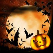 Halloween illustration Stock Illustration