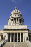 Capitolio building exterior in Havana city, Cuba. Stock Photos