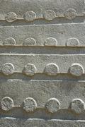 UNESCO Heritage obelisks of Axum, Ethiopia. - stock photo