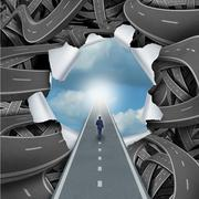 Stock Illustration of Clear Way